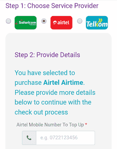 mobile number