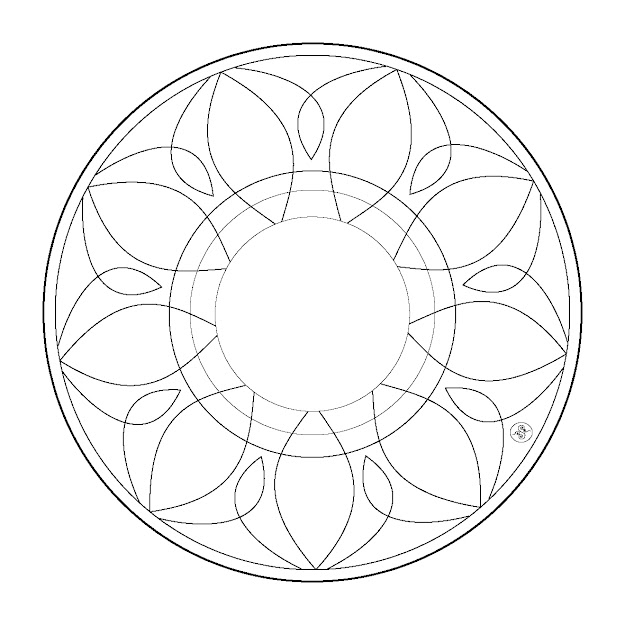 Coloring Mandalas  Simple Mandala Coloring Pages  Coloring Pages   Pictures  Imagixs