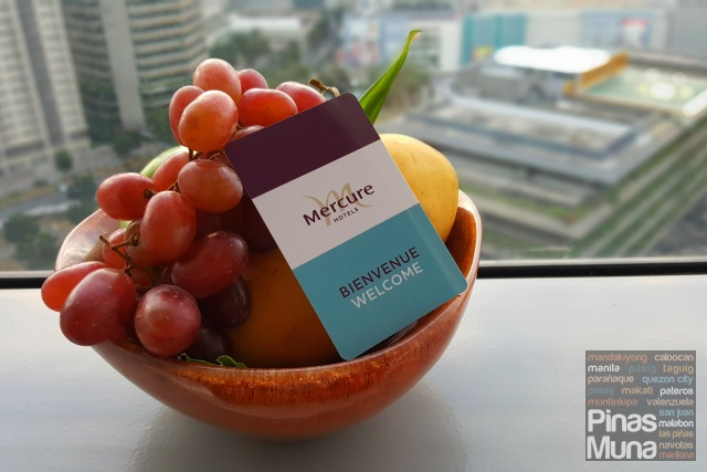 Welcome Amenities at Mercure Manila Ortigas