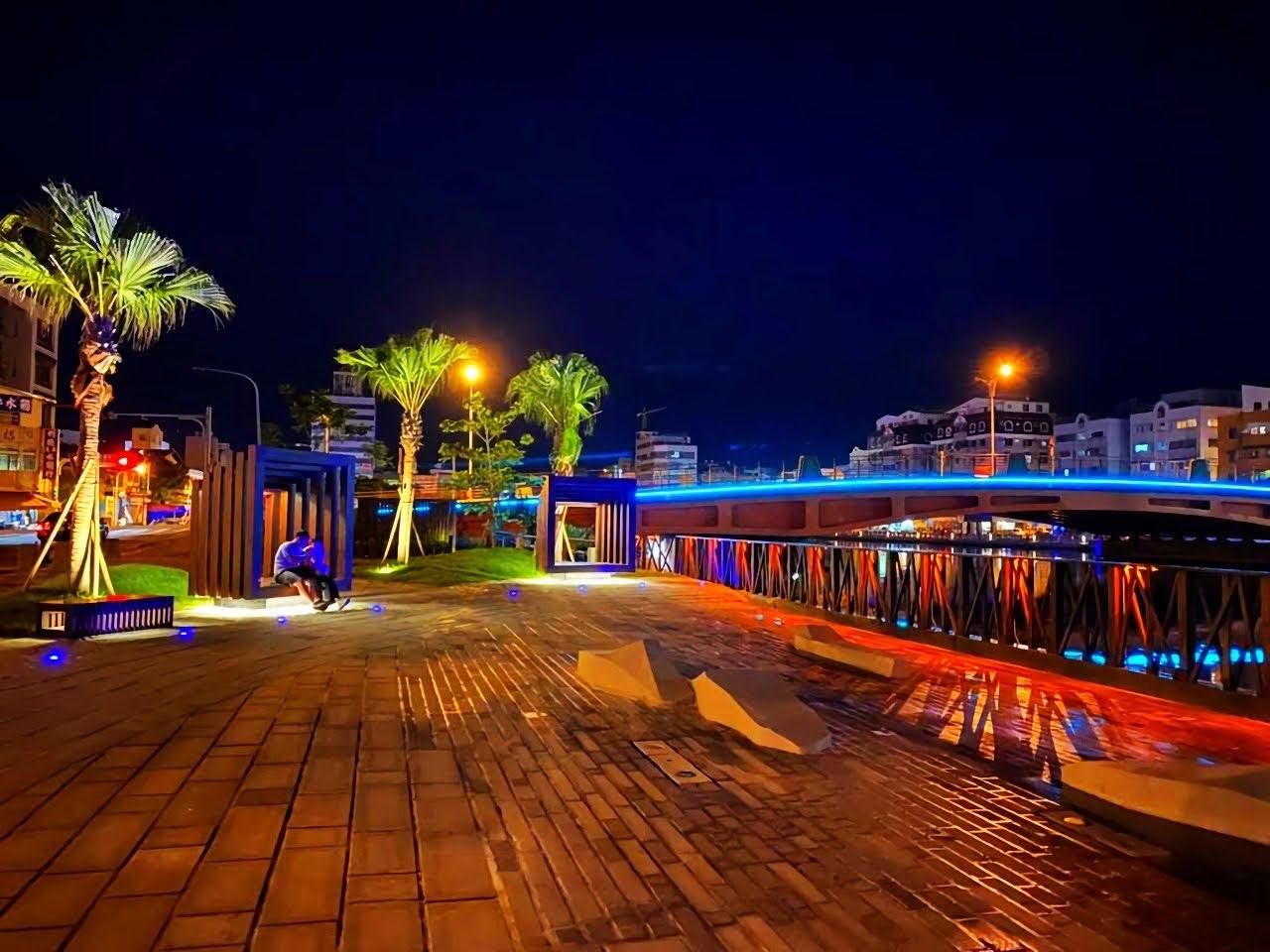 日夜都美|環河街廣場浪漫大變身|串聯河樂廣場延伸3.7公里金色流域