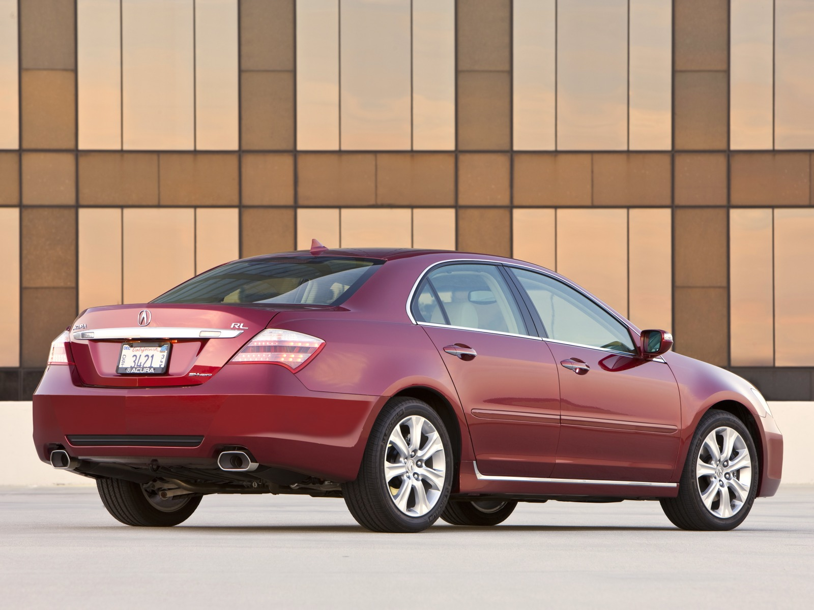 2009 Acura RL Pictures & Specifications Wallpapers
