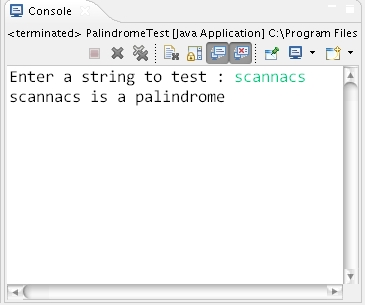 C++ Program to Check String is Palindrome or not