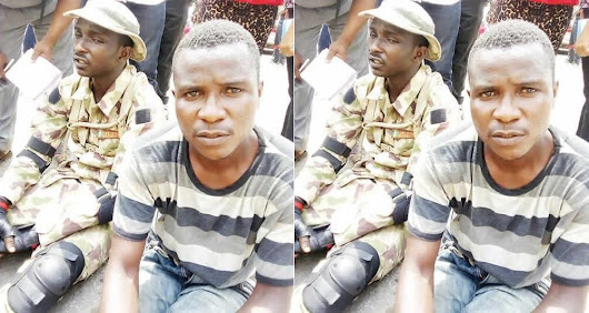 200-Level Undergraduate Student Of Caleb University Nabbed While Posing As A Military Officer