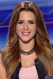 شيماء صابر (Shaimaa Saber)، مذيعة مصرية