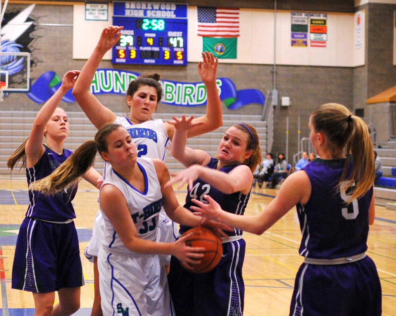 SW girls basketball Friday night - Shoreline Area News