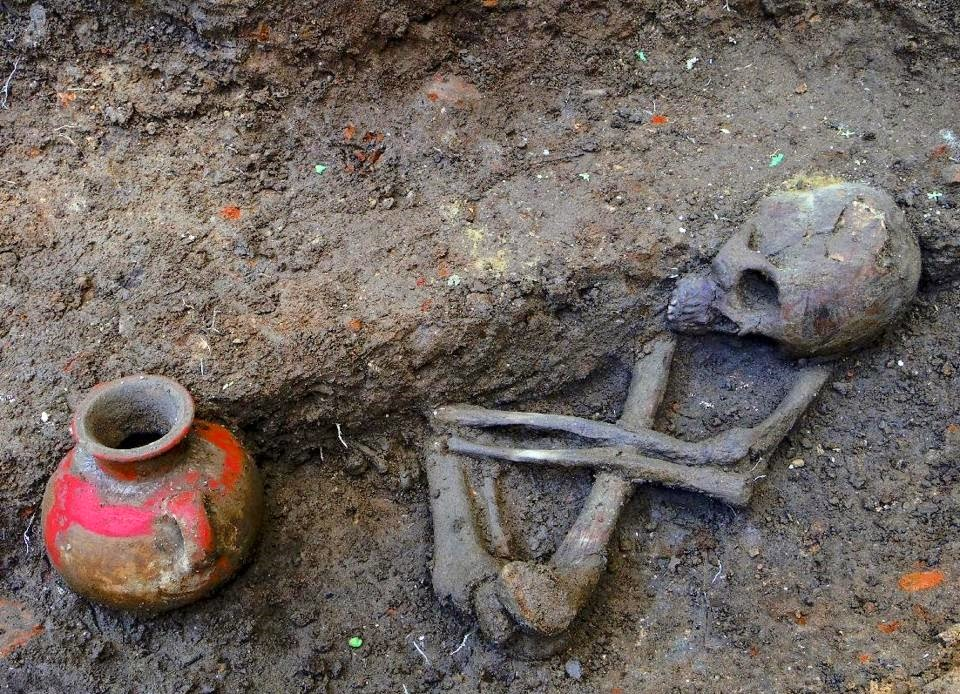 Skeletons found in El Salvador shed light on pre-Hispanic life