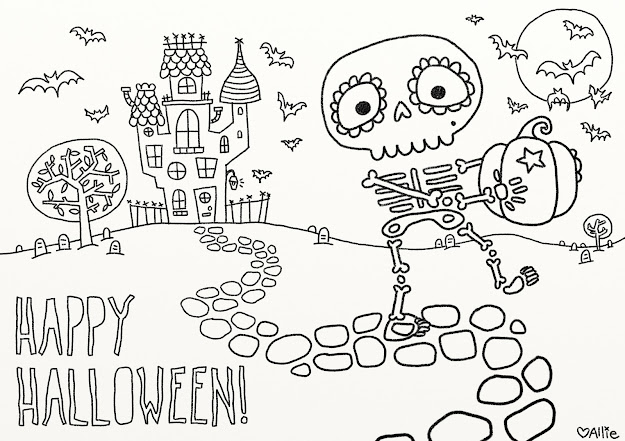 Fun Free Printable Halloween Coloring Pages