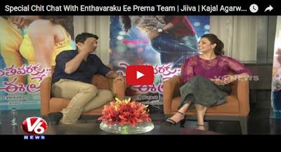 Special Chit Chat With Enthavaraku Ee Prema Team  Jiiva  Kajal Agarwal...