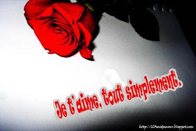 SMS d'amour - Message d'amour pour mon amour