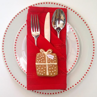 Easy Christmas Table Setting Ideas