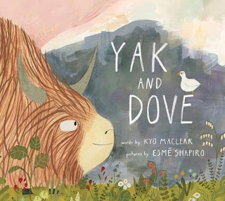 Yak and Dove is a cute story of friendship. We may have differences but that often makes our friendships stronger.