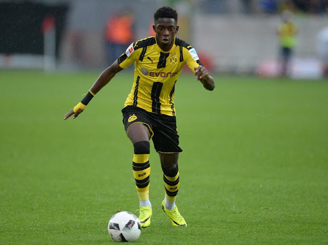 Ousmane Dembele Mendapatkan Penghargaan Terbaik di Bundesliga