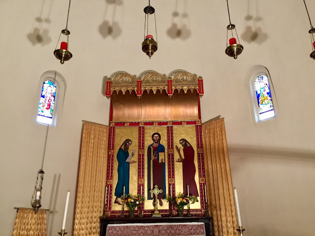 St. Barnabas is an historical show place of Christian artwork