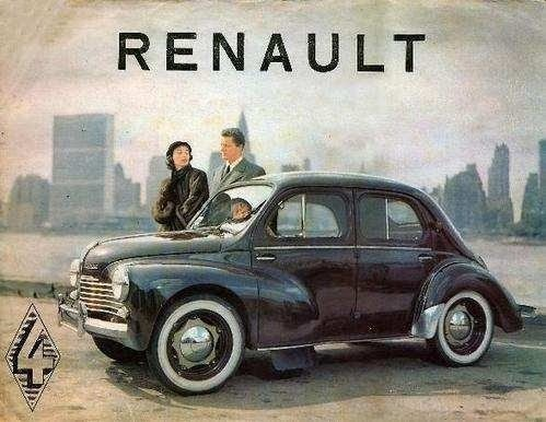 culture pub auto la renault ma 4 cv. Black Bedroom Furniture Sets. Home Design Ideas