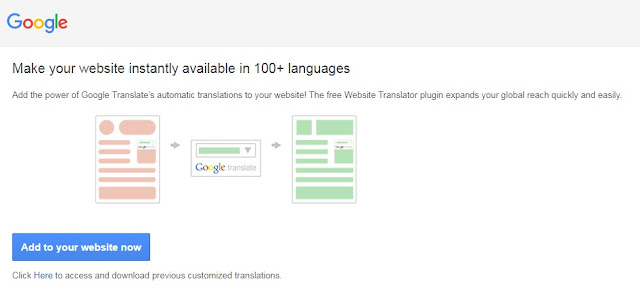 Getting Foreign traffic through Translate tool