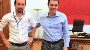 Podemos:Ξεκινάμε από την Ελλάδα. Εμπρός, Αλέξη! Εμπρός, ΣΥΡΙΖΑ