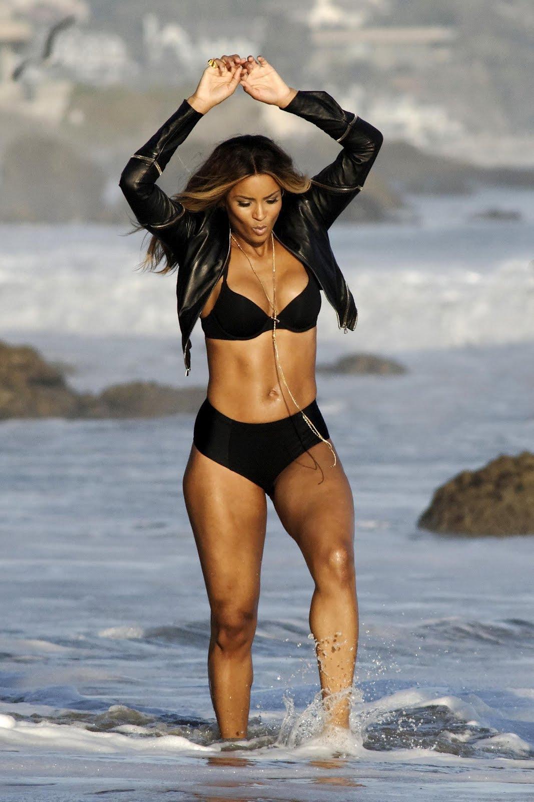Ciara Flaunts Banging Beach Body On Set Of Im Sorry -4385