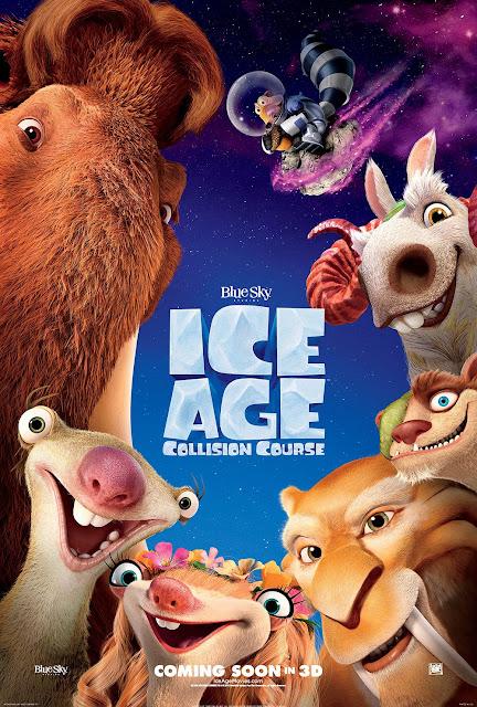ice age five era hielo poster