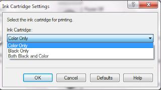 Cara Print Hitam Dengan Tinta Warna