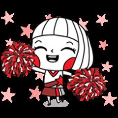 Ms. Big: Bickering Animated Stickers
