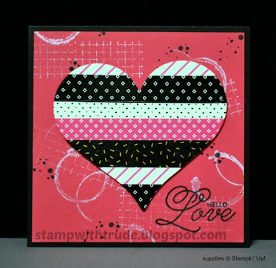 Sealed with Love, Stampin' Up!, Stamp with Trude, 2017 Occasions catalog, valentine, Tuesday Tutorial 76