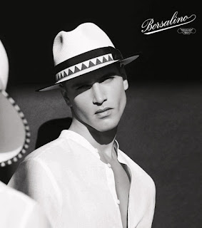 Fabio Mancini is the Face of Borsalino Spring Summer 2018 Collection
