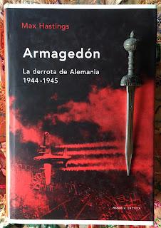 Portada del libro Armagedón, de Max Hastings