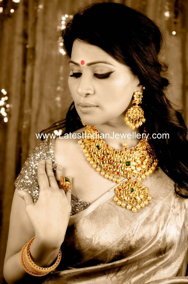 latest kundan jewellery design