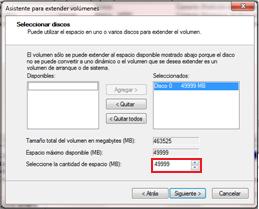 Como crear o eliminar particiones en Windows 7 sin tener que formatear -http://3.bp.blogspot.com/-TzeN8XybCA0/T0vQD1Iin1I/AAAAAAAAACU/pTP8fyx2z4A/s1600/siguiente.png