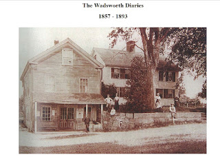 Wadsworth Station - at the intersection of the SNETT Trail and Spring St here in Franklin