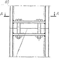 Болтовое соединение колонн