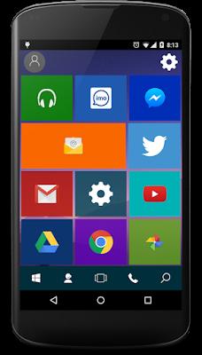 tampilan menu aplikasi