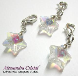 ciondoli stella cristallo regalo Natale