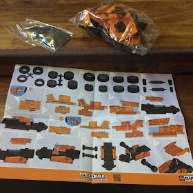 Airbix QuickBuild Lamborghini pieces