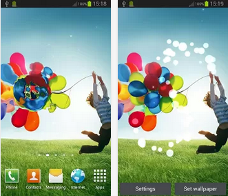 Galaxy S4 Live Wallpaper | For Play store - Free Download ...