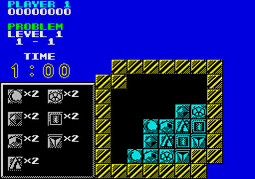 Puzznic ZX Spectrum