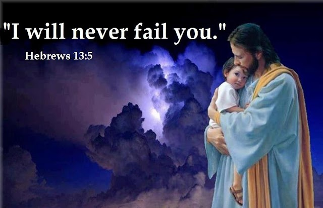 I will never fail you Hebrews 13:5 wallpaper