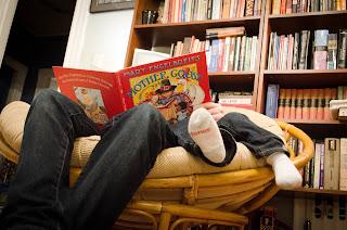 Que los niños no se queden sin sentir la ternura cuando se les lee un cuento con amor.