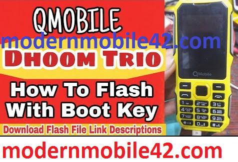 qmobile dhoom trio flash file