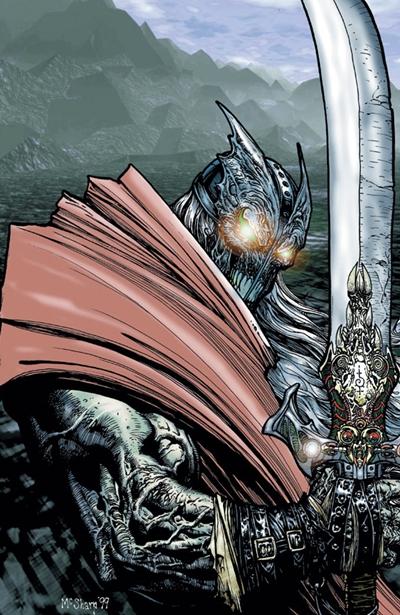 Un Spawn medieval conocido como Black Knight