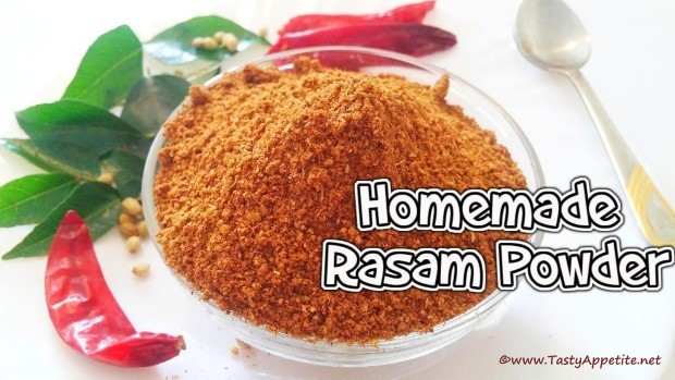 homemade rasam powder recipe