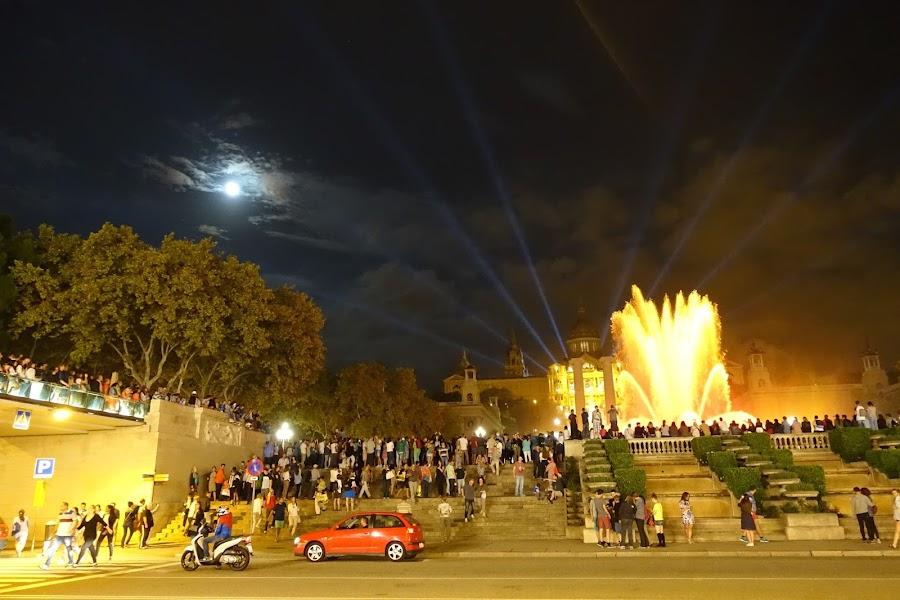 モンジュイックの噴水(Fuente Magica de Montjuic)