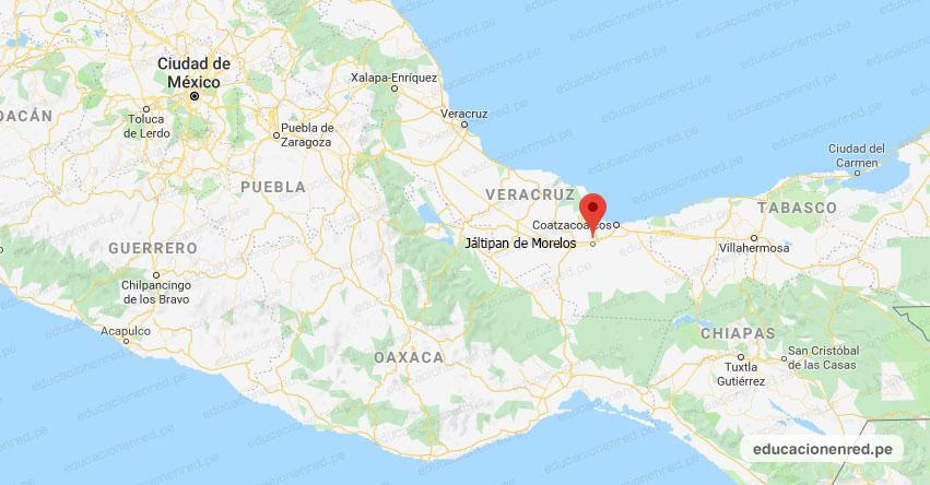 Temblor en México de Magnitud 4.3 (Hoy Lunes 17 Agosto 2020) Sismo - Epicentro - Jáltipan de Morelos - Veracruz de Ignacio de la Llave - VER. - SSN - www.ssn.unam.mx