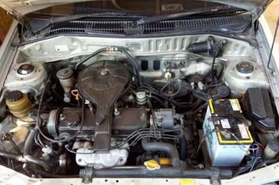 Foto Mesin Toyota Starlet Kapsul 1.3 SE, SE Limited dan SE-G