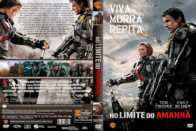 Filme No Limite do Amanhã (Edge Of Tomorrow) DVD Capa