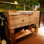 Urban Garden Made with Pallets