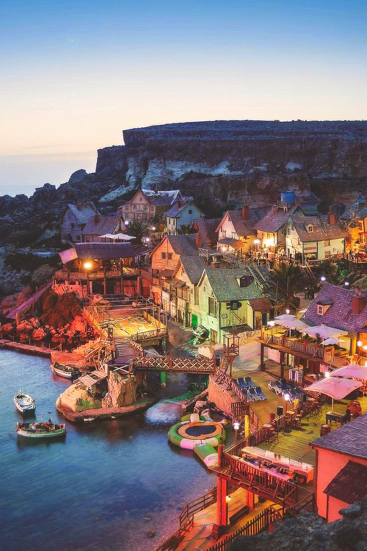 10 Hottest Summer Destinations In Europe | Popeye Village, Malta