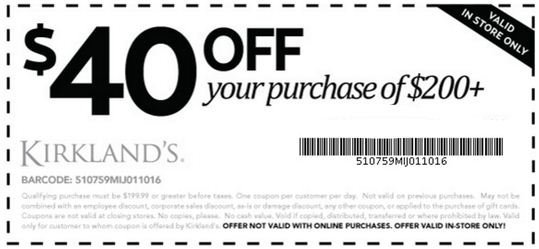 kirkland home decor coupons kirklands printable coupons july 2017 info coupons 2017 11612