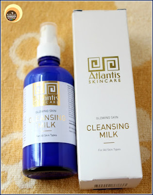 Atlantis Skincare Glowing Skin Cleansing Milk on Natural Beauty And Makeup Blog