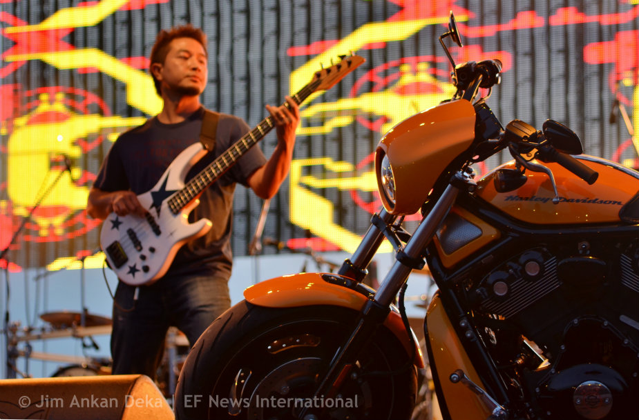 Boomerang, band from Mizoram at Harley Rock Riders, Bangalore - Jim Ankan photography